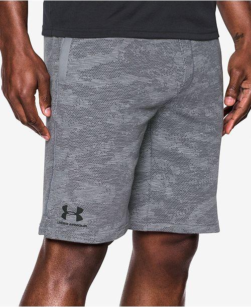Camo Men Fleece Shorts Armour Macy's Sweat Men's Under qnAxEYfpwt