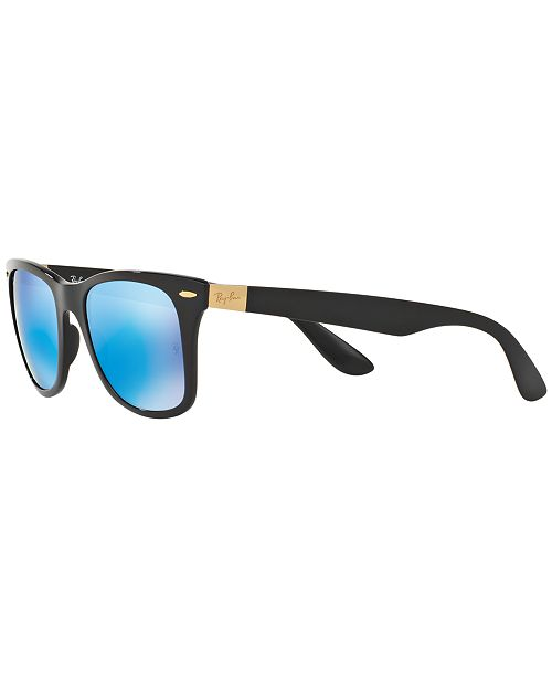 5e86fda55bc91 ... shop ray ban. wayfarer lit sunglasses rb4195 52. 1 reviews.