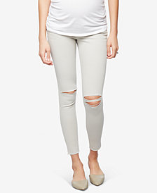 Joe's Jeans Khaki Wash Maternity Skinny Jeans