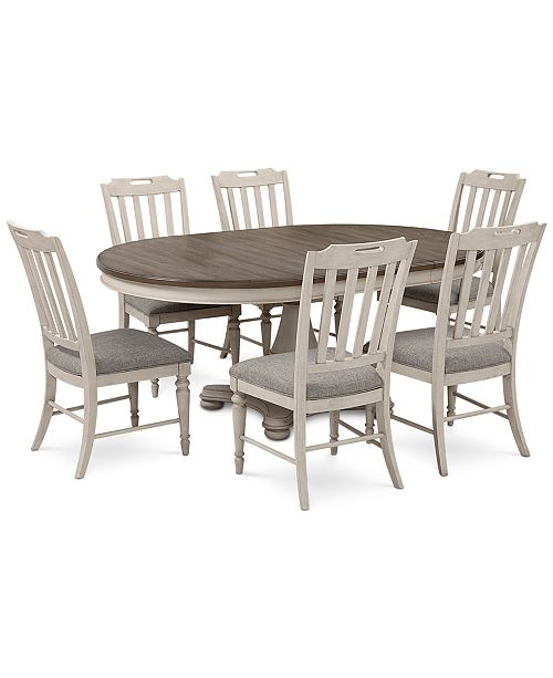 Furniture Barclay Expandable Round
