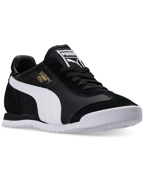 Puma Men s Roma OG Nylon Casual Sneakers from Finish Line ... 12e0f208e