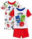 PJ Masks 4-Pc. Cotton Pajama Set, Toddler Boys (2T-5T)