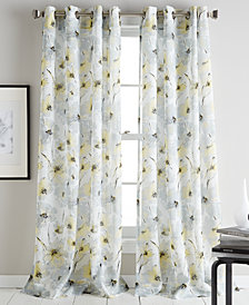 DKNY Modern Bloom Curtain Panels