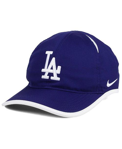 ... Nike Los Angeles Dodgers Dri-FIT Featherlight Adjustable Cap ... 7b9adb090462