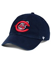 new arrival 160b7 616b1  47 Brand Cleveland Indians Cooperstown CLEAN UP Cap