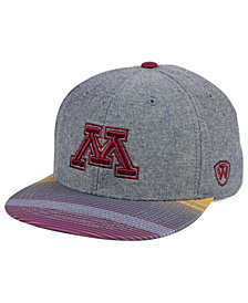 Top of the World Minnesota Golden Gophers Tarnesh Snapback Cap