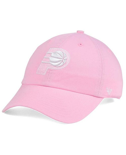 '47 Brand Women's Indiana Pacers Petal Pink CLEAN UP Cap