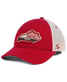 Zephyr Louisville Cardinals Roadtrip Patch Mesh Cap