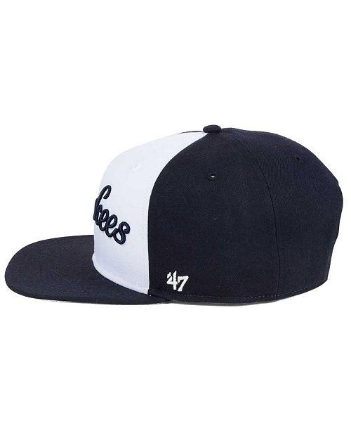 e736d1b8ded23 47 Brand New York Yankees Script Side Snapback Cap   Reviews ...