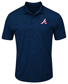 Profile Men's Big & Tall Atlanta Braves First Hit Polo