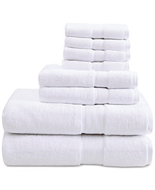 Madison Park Signature Solid 8 Pc Towel Set