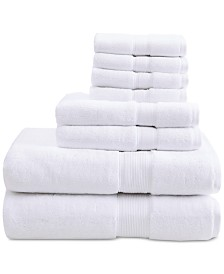 Madison Park Signature Solid 8-Pc. Towel Set