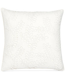 "Sanderson Wisteria Falls 20"" Square Decorative Pillow"