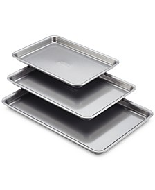 3-Pc. Silver Cookie Pan Set