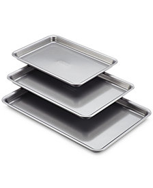 Anolon 3-Pc. Silver Cookie Pan Set