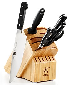 Zwilling J.A. Henckels Pro 7-Pc. Choose your Block Knife Set