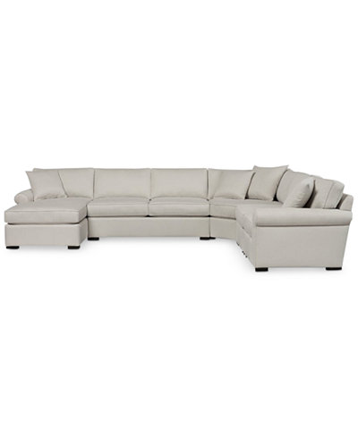 Astra 6-Pc. Sectional with Chaise, Created for Macy's