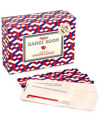 Ridley's Games Room General Knowledge