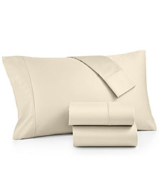 CLOSEOUT! Amherst 100% Combed Cotton  400 Thread Count 4-Pc. Queen Sheet Set