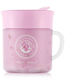 TONYMOLY Latte Art Strawberry Latte Cream-In Scrub