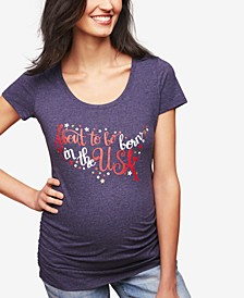 About To Be Born In The USA™ Maternity Tee