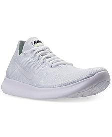 Nike Men's Free Run Flyknit 2017 Running Sneakers from Finish Line