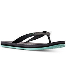 Under Armour Men's Atlantic Dune Athletic Flip-Flop Thong Sandals from Finish Line