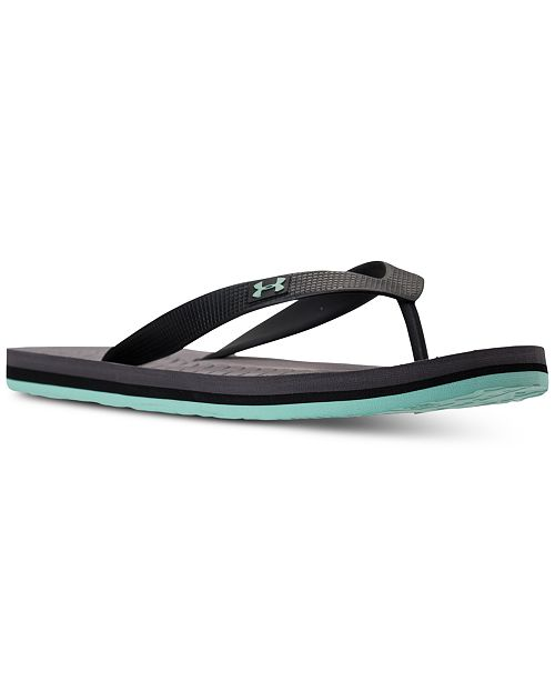 b4a183a7ea5a ... Under Armour Men s Atlantic Dune Athletic Flip-Flop Thong Sandals from  Finish ...