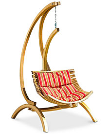Ronsen Cushion Hanging Chair, Quick Ship
