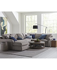 Doss II Fabric Sectional Collection