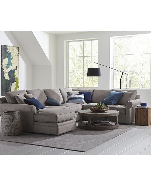 Furniture Doss Ii Fabric Sectional Collection Reviews Furniture