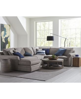 Doss II Fabric Sectional Collection. Furniture