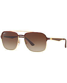 Ray-Ban Sunglasses, RB3570 58