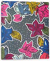 Vera Bradley Falling Flowers Three-Ring Binder