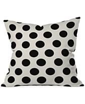 Black Decorative Pillow Throws Macy S