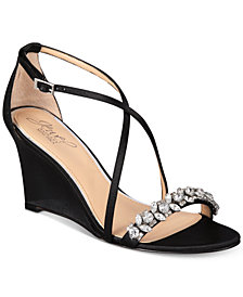 Jewel Badgley Mischka Little Evening Sandals