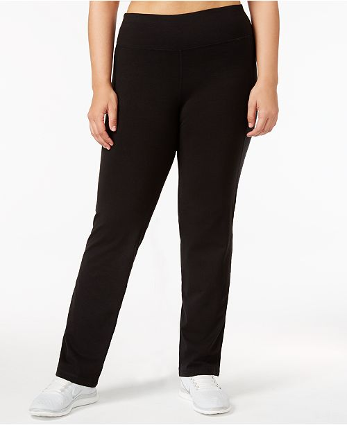 207b820fc57e6 ... Ideology Plus Size Slimming Pants