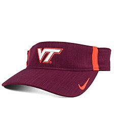 Nike Virginia Tech Hokies Sideline Aero Visor