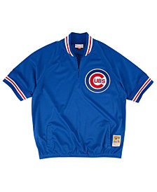 Mitchell & Ness Men's Chicago Cubs BP Mesh Jersey Top