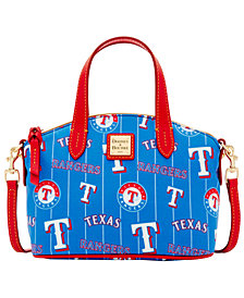 Dooney & Bourke Texas Rangers Nylon Mini Crossbody Satchel