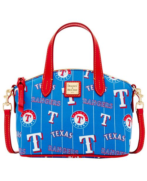 Dooney & Bourke Texas Rangers Nylon Mini Crossbody Satchel