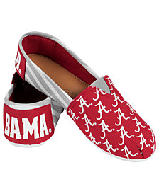 Forever Collectibles Alabama Crimson Tide Canvas Logo Shoe