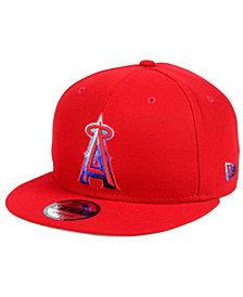 New Era Los Angeles Angels of Anaheim Color Dim 9FIFTY Snapback Cap