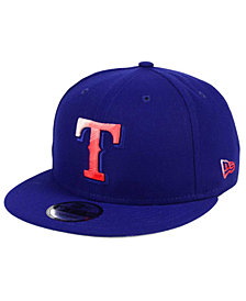 New Era Texas Rangers Color Dim 9FIFTY Snapback Cap