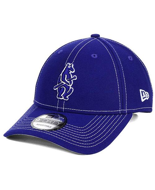 7aae146c000 New Era Chicago Cubs The League Classic 9FORTY Adjustable Cap ...