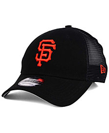 New Era San Francisco Giants Team Trucker Patch 9FORTY Snapback Cap