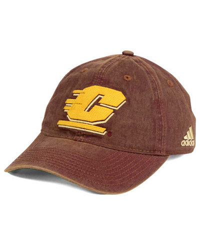 adidas Central Michigan Chippewas Over Dye Slouch Cap
