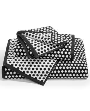 Charter Club Elite Cotton Fashion Dot Washcloth Created for Macys Bedding