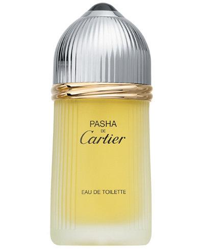 Cartier Men's Pasha de Cartier Eau de Toilette Spray, 3.3 oz.