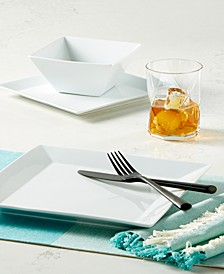 Whiteware Square Collection, Created for Macy's